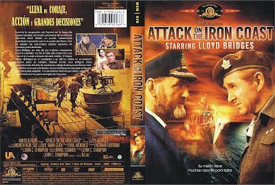 Carátula: Misión suicida (1968) Attack on the Iron Coast / Descargar / Película