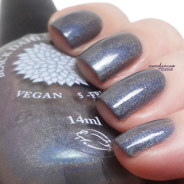 xoxoJen's swatch of Black Dahlia Iron Lotus