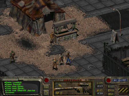 Imagen del juego Fallout (1997)