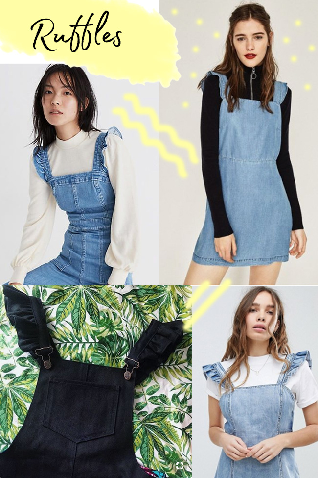 10 strap ideas for the Cleo dress - ruffles