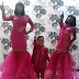 Toyin Lawani and her kids rock matching outfits (photos)
