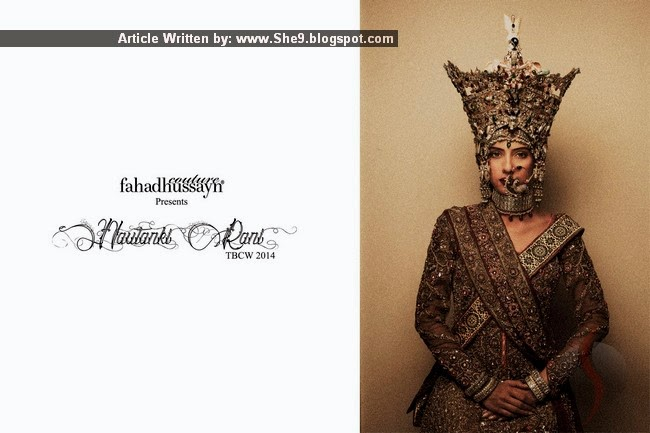 Nautanki Rani Bridal Collection