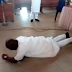 Senator Dino Melaye Spotted Rolling On The Floor During Thanksgiving In The Church  (See Photos)
