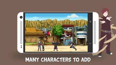 Download Ninja War Konoha Defenders Mod Apk versi terbaru Naruto Ninja War: Konoha Defenders 1.2.19 Mod APK (All Character) for Android 2017