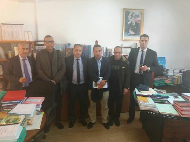 بلاغ رقم 6 الجمعية المغربية لمدرسي الفلسفة ولقاء السيد مدير المناهج