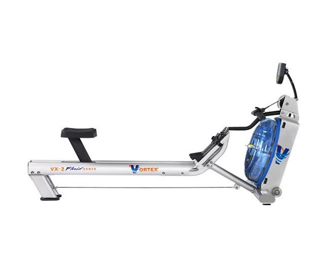 rameur fluid rower VX-2 de profile
