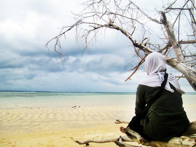 View in Sangalaki Island, Derawan, East Kalimantan, Indonesia