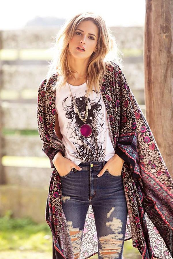 Moda jeans primavera verano 2018. Moda mujer 2018.