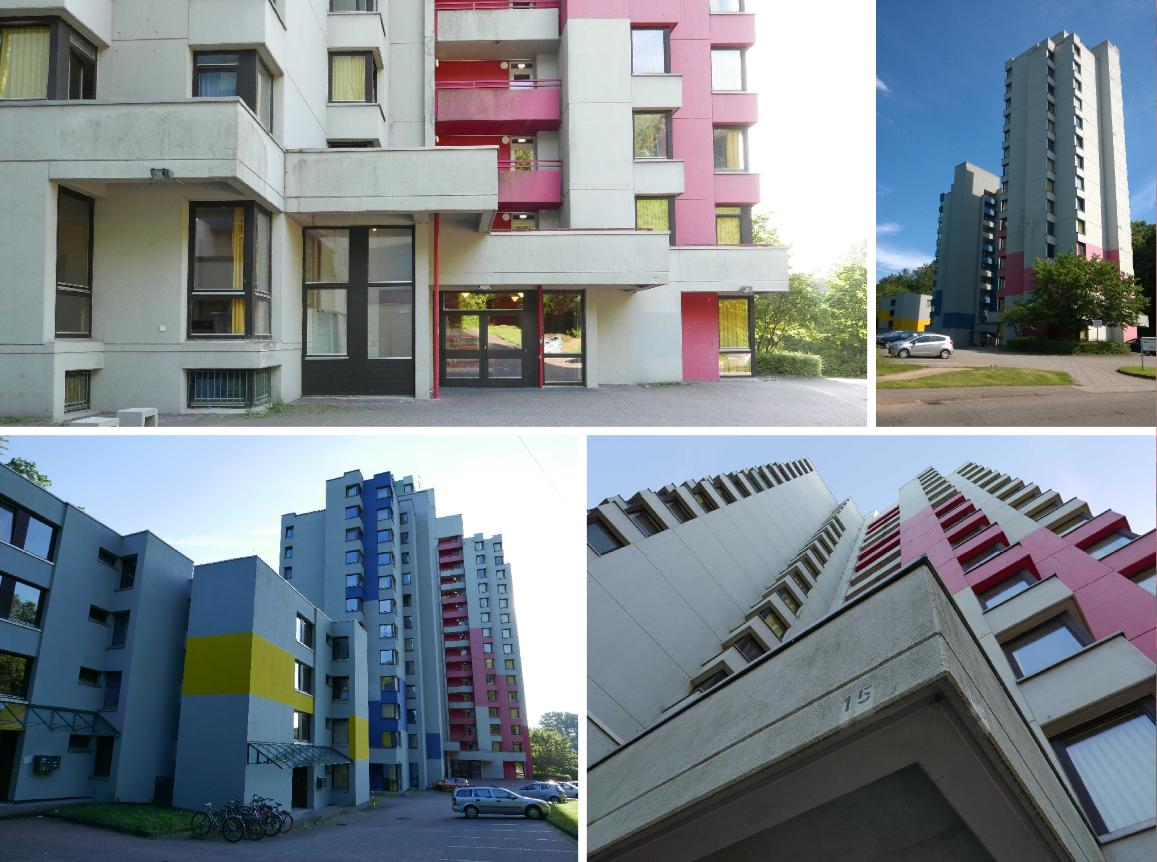 Architekt Saarbrücken gebäude des monats 05 16 studentenwohnheim waldhausweg laborbericht