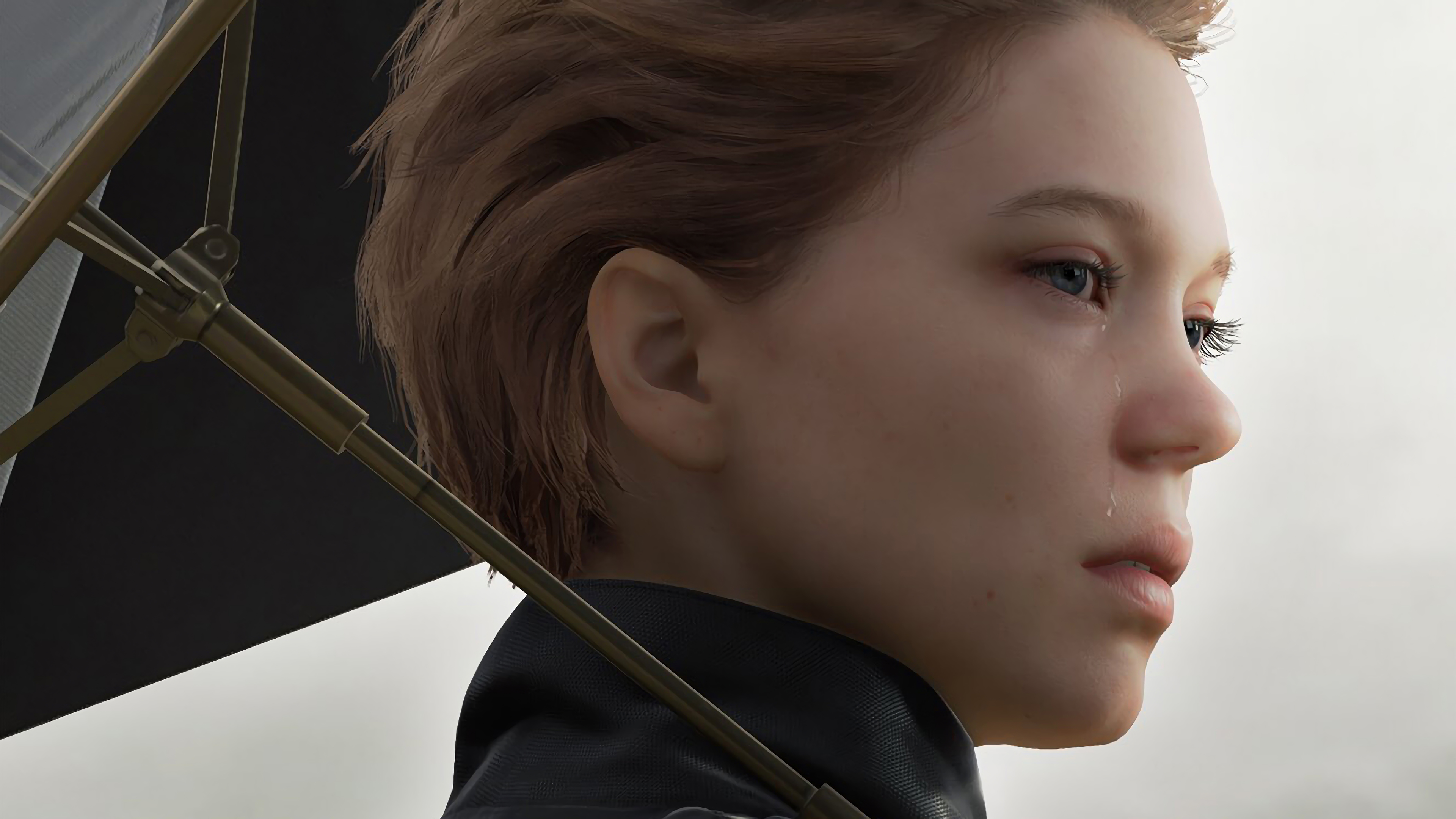 Death Stranding Fragile Lea Seydoux 4k Wallpaper 15 Hit square on the prompt to be taken to the fast travel. death stranding fragile lea seydoux 4k