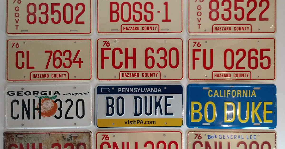 "METAL STREET SIGN /"" HAZZARD COUNTY GARAGE /"" DUKES OF Cooter Bo Luke Daisy Rosco"