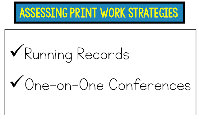 Assessing Print Work Strategies