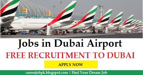 Job vacancies in Dubai Airport