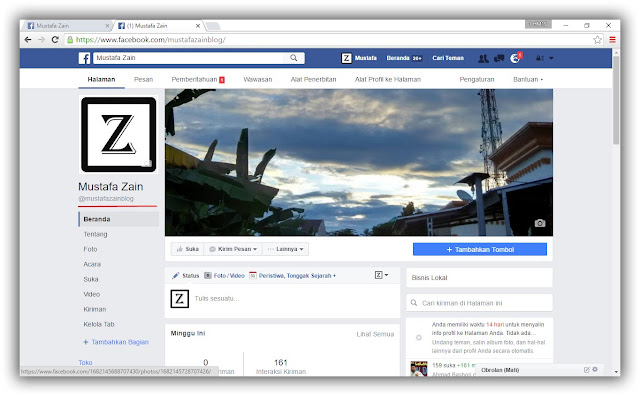 Cara Mudah Mengubah Profil Facebook Menjadi Fan Page