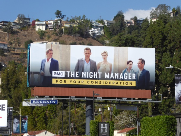 Night Manager For your consideration 2016 billboard