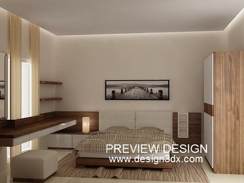 Jasa Design Online Gambar Bedroom Minimalis Modern