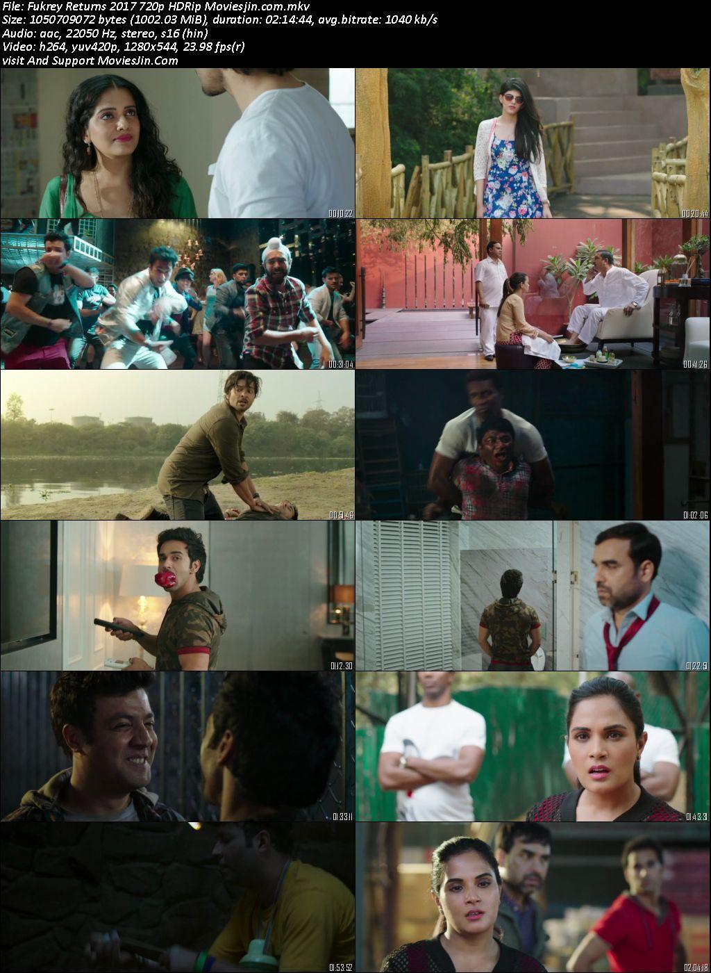 Fukrey Returns 2017 Download Full Movie Hindi 720p HD-Rip