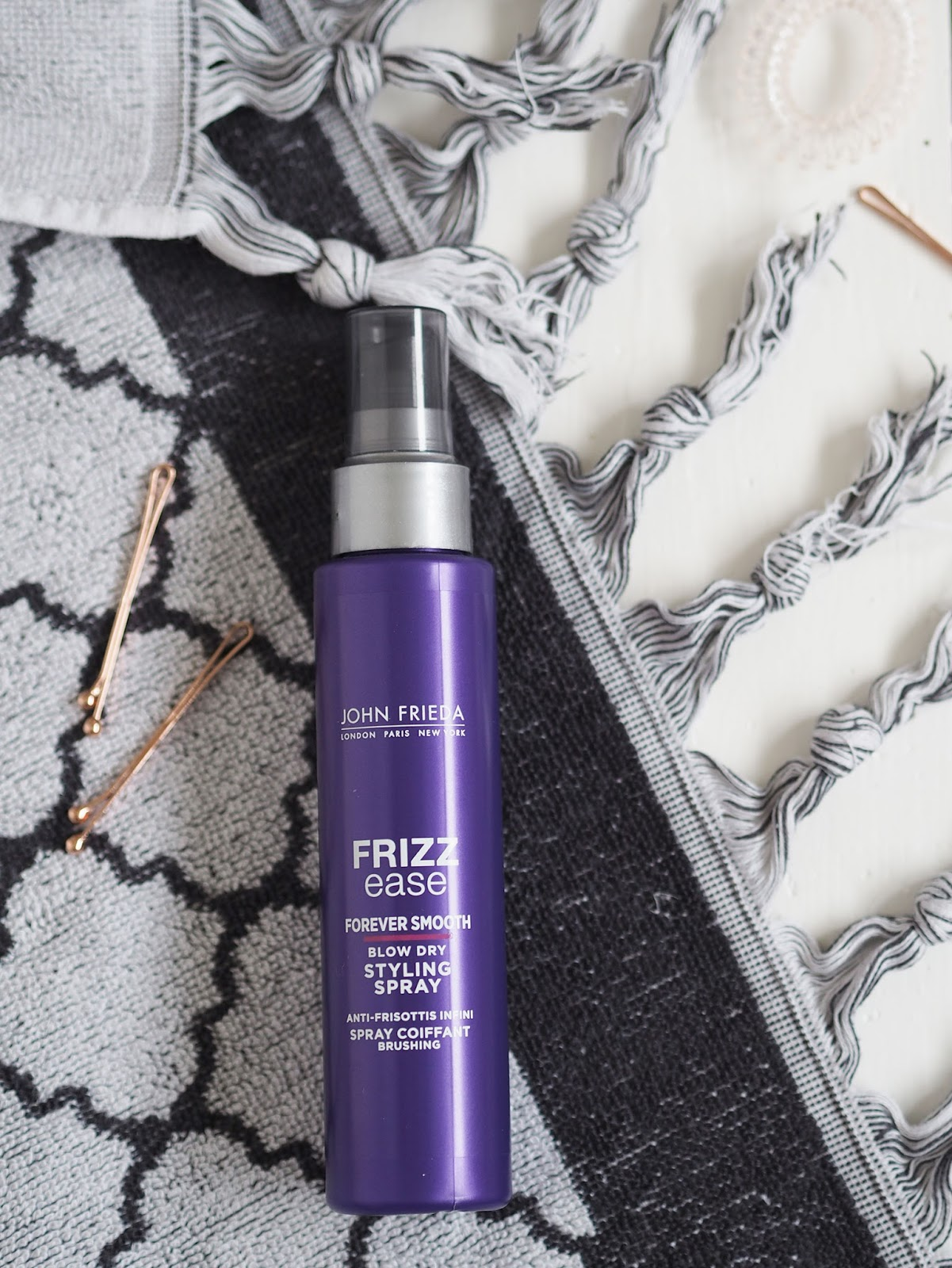 John Frieda Forever Smooth Blow Dry Styling Spray