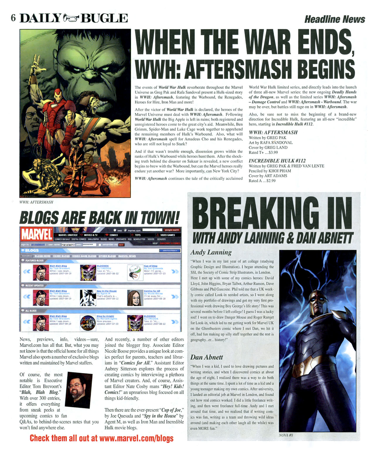 Read online Daily Bugle (2006) comic -  Issue #14 - 6