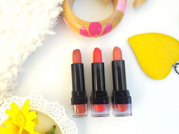 Three W7 pink nude lipsticks to wear now