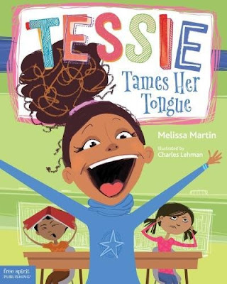 Tessie Tames Her Tongue is a great social story for the extra-social butterflies we all know and love. Tessie's strategies are easy to replicate, and the book shows that it does take multiple weeks for strategies to really begin working.