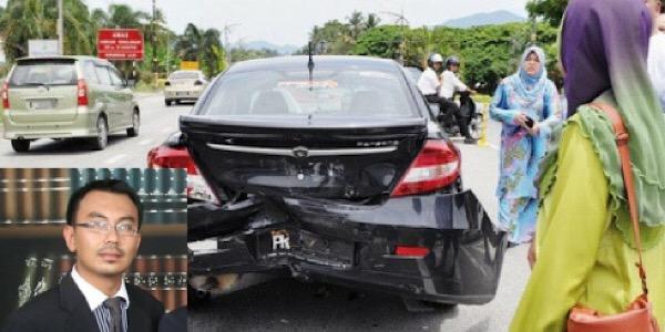 Peguam Ini Ajar 14 Tindakan Jika Kereta Atau Motor Dilanggar Dari Belakang