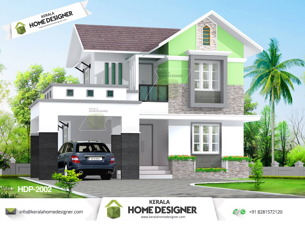 Free home design indian style home design and style for Small budget house plans in kerala