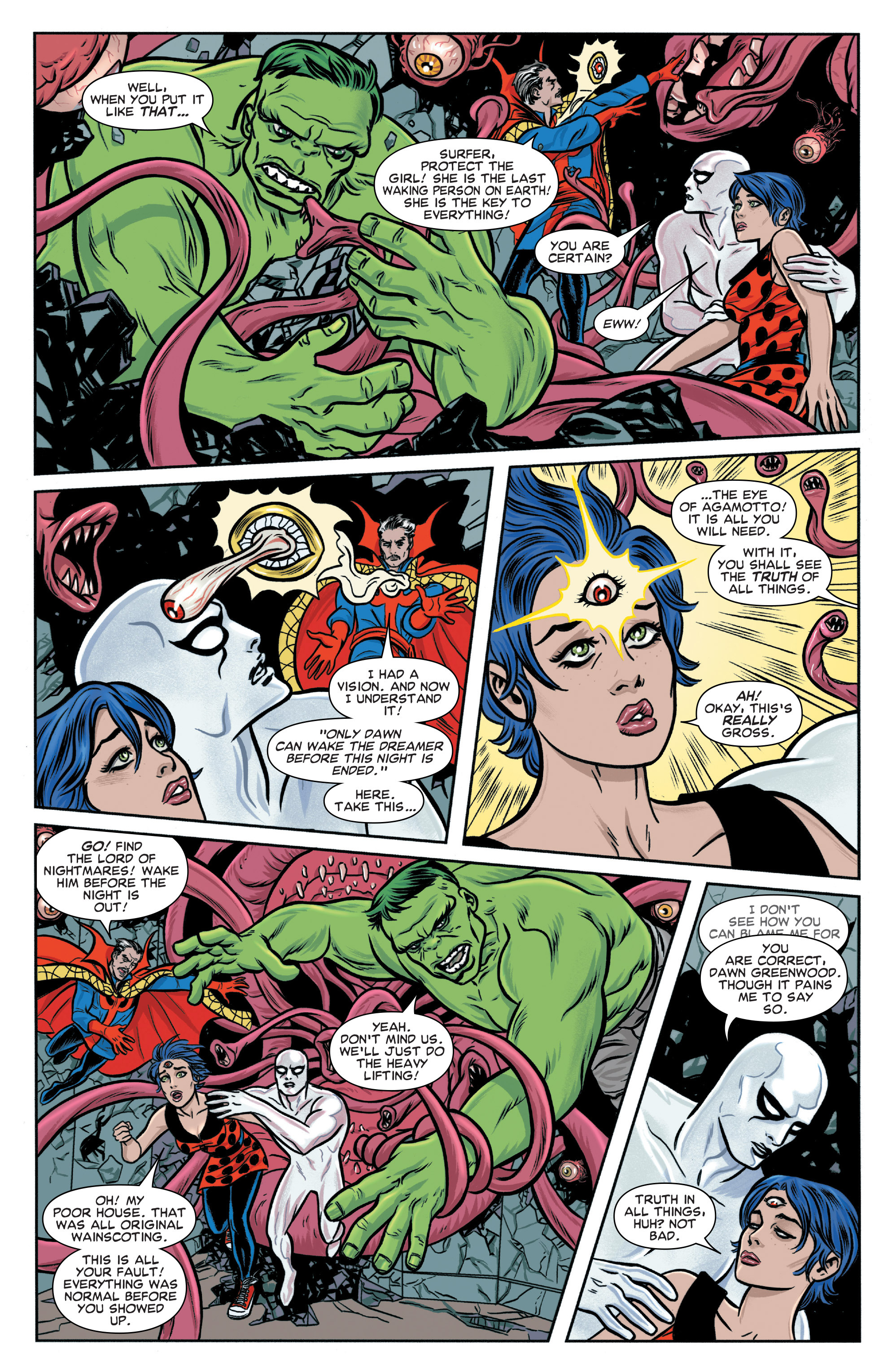 Read online Silver Surfer (2014) comic -  Issue #5 - 10