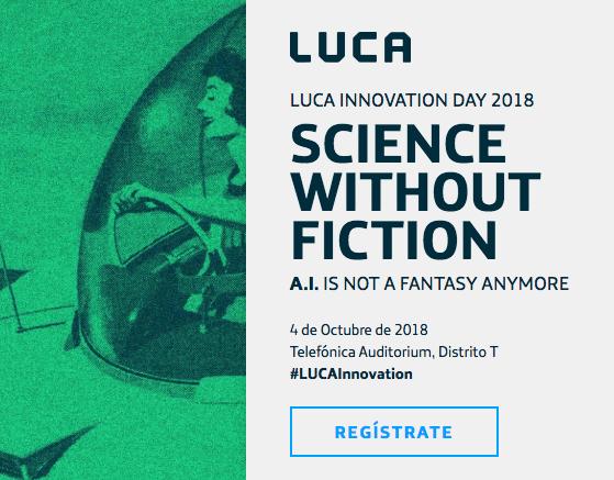 Figura 2: LUCA Innovation Day 2018