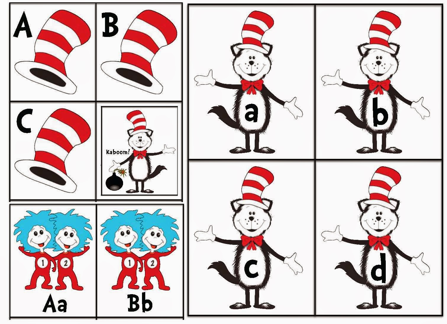 Classroom Freebies Dr Seuss Cat In The Hat Activities