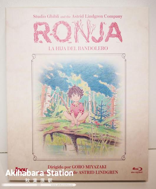 """""""Ronja, la hija del bandolero"""" en Blu-ray de Jonu Media."""