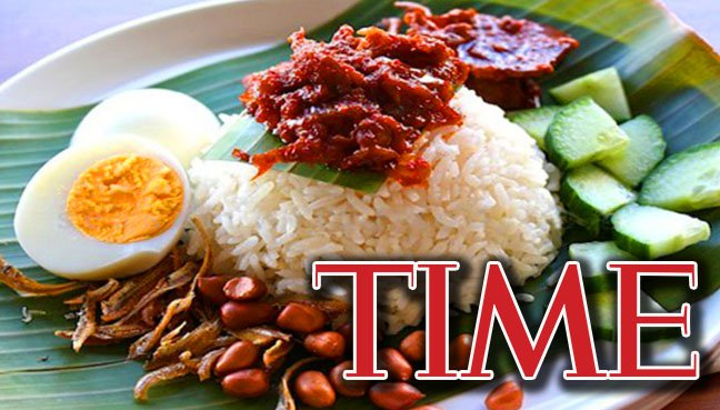 Go on, have a healthy Nasi Lemak breakfast, says Time