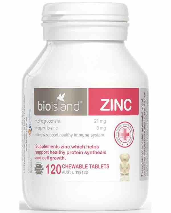 Bio Island Zinc - Bổ sung kẽm cho trẻ