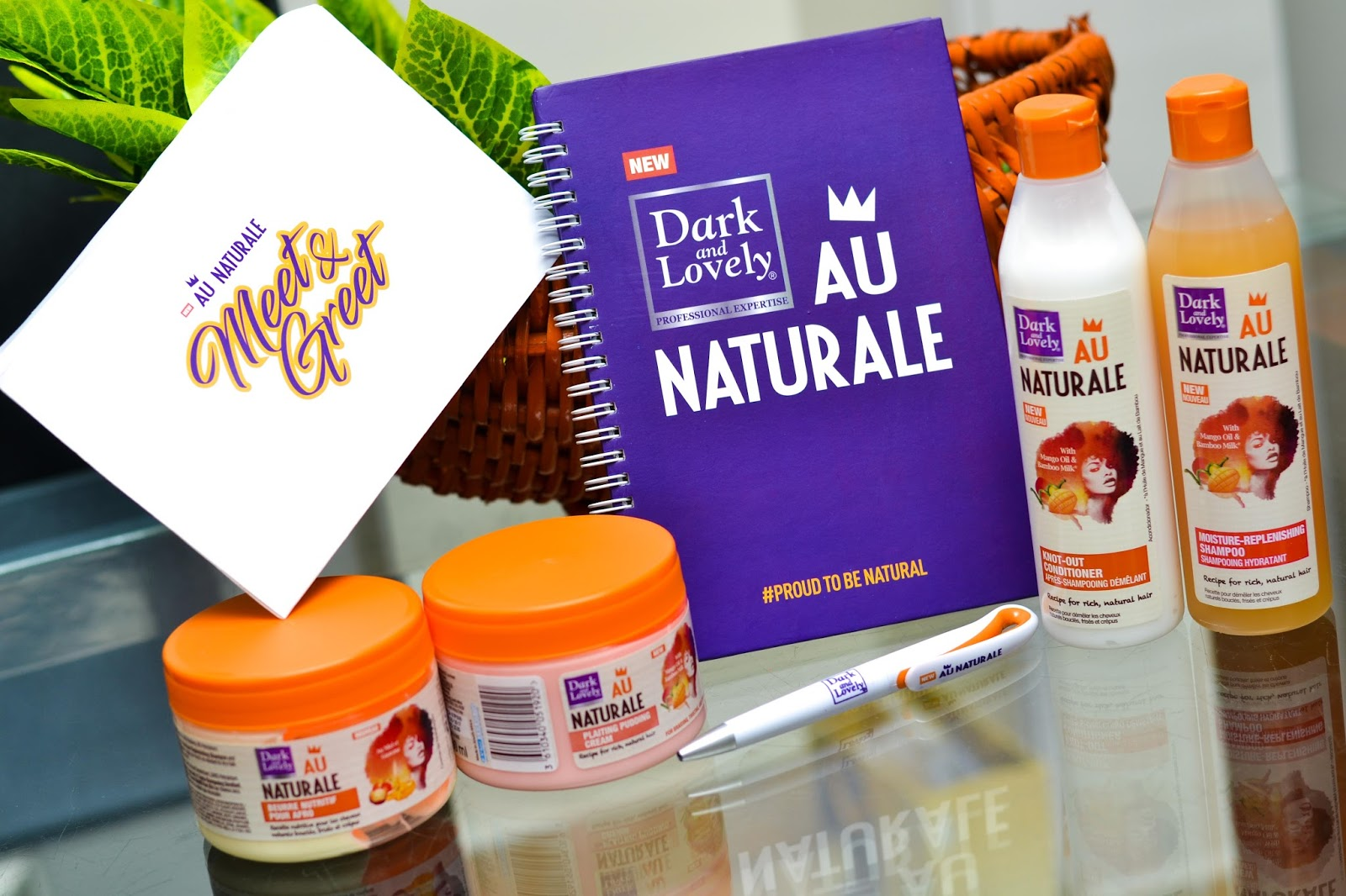 Dark & Lovely Au Naturale Range