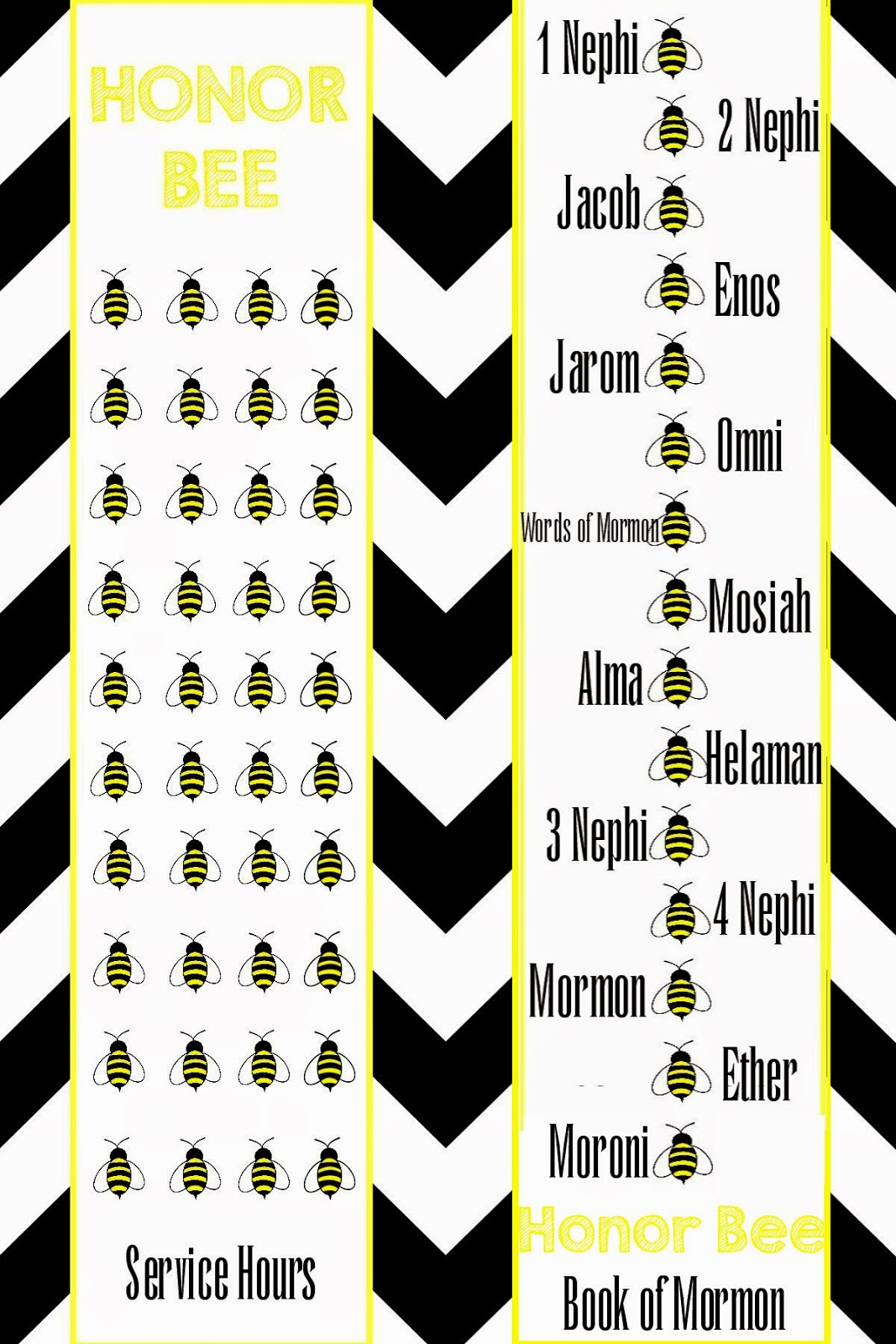 This N That A Little Crafting Honor Bee Book Mark