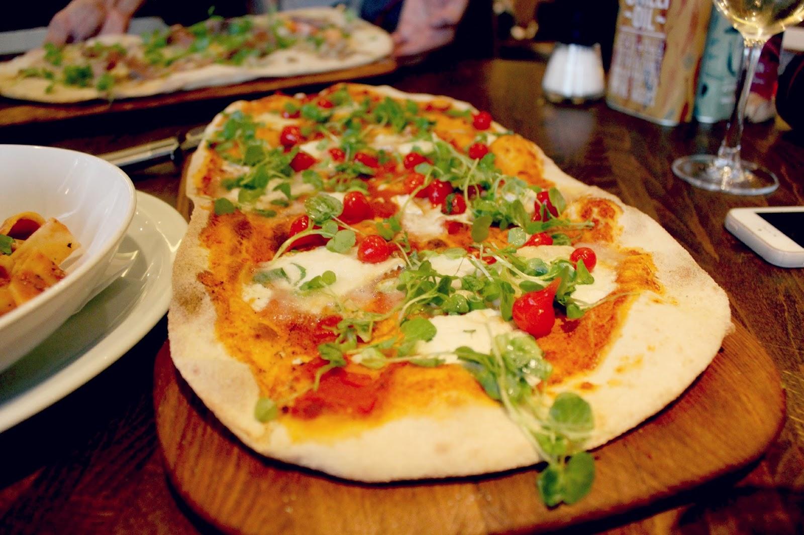 Zizzi Vegetarian Pizza