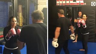 Rocky Balboa a tappeto da un gancio destro di Demi Lovato - Video