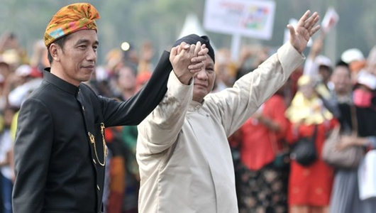 Survei Indopoling: Jokowi Unggul Tipis atas Prabowo di Jabar