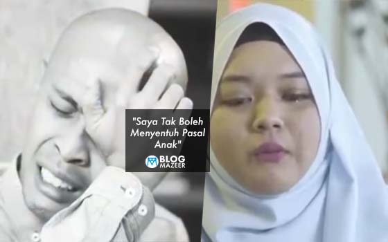 """""""Saya Tak Boleh Menyentuh Pasal Anak"""" - Luahan Achey Dan Isteri Buat Ramai Menangis Bila Bercerita Pasal Anak"""