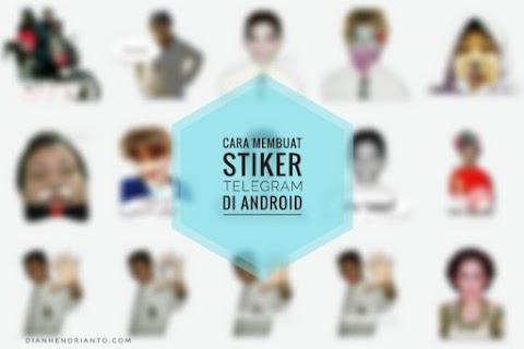 Tutorial Membuat Stiker Telegram Keren Di Android