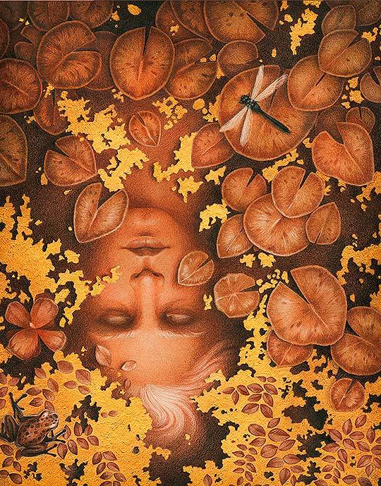 Ilustración, colorido y texturas de Vero Navarro