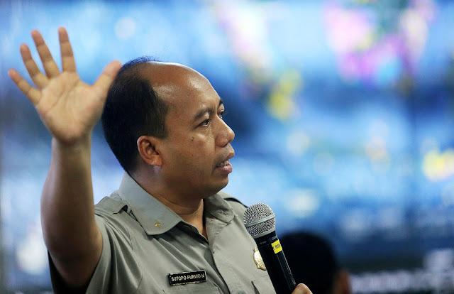 Sutopo Purwo Nugroho Kepala Humas BNPB
