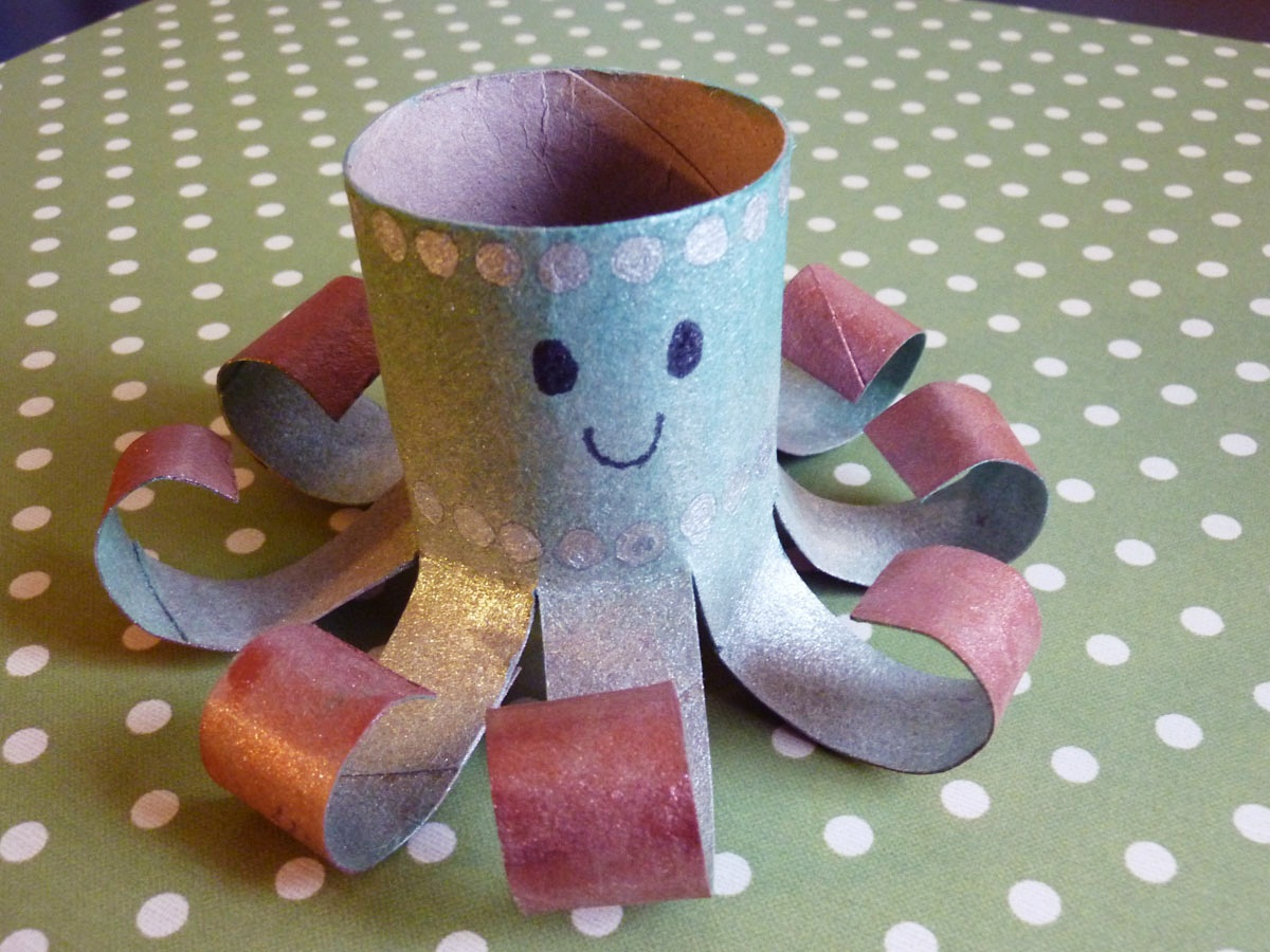 Friday Craft Day Toilet Paper Roll Owls
