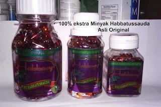 Jual khasiat manfaat habbatussauda kapsul minyak dan serbuk Original
