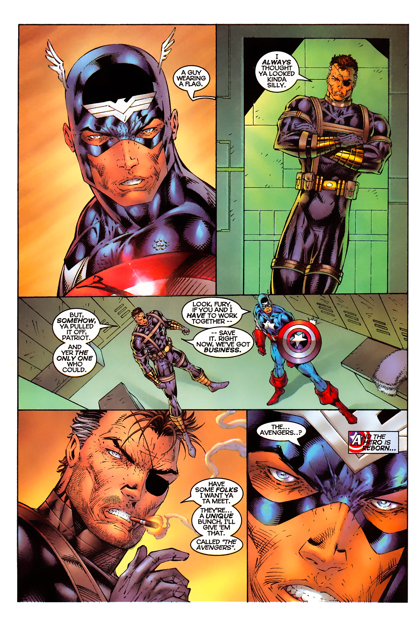 Captain America (1996) Issue #3 #3 - English 14
