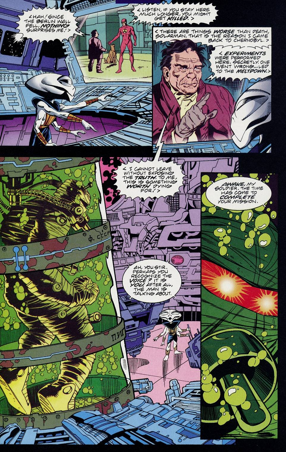 Read online Solar, Man of the Atom comic -  Issue #58 - 14