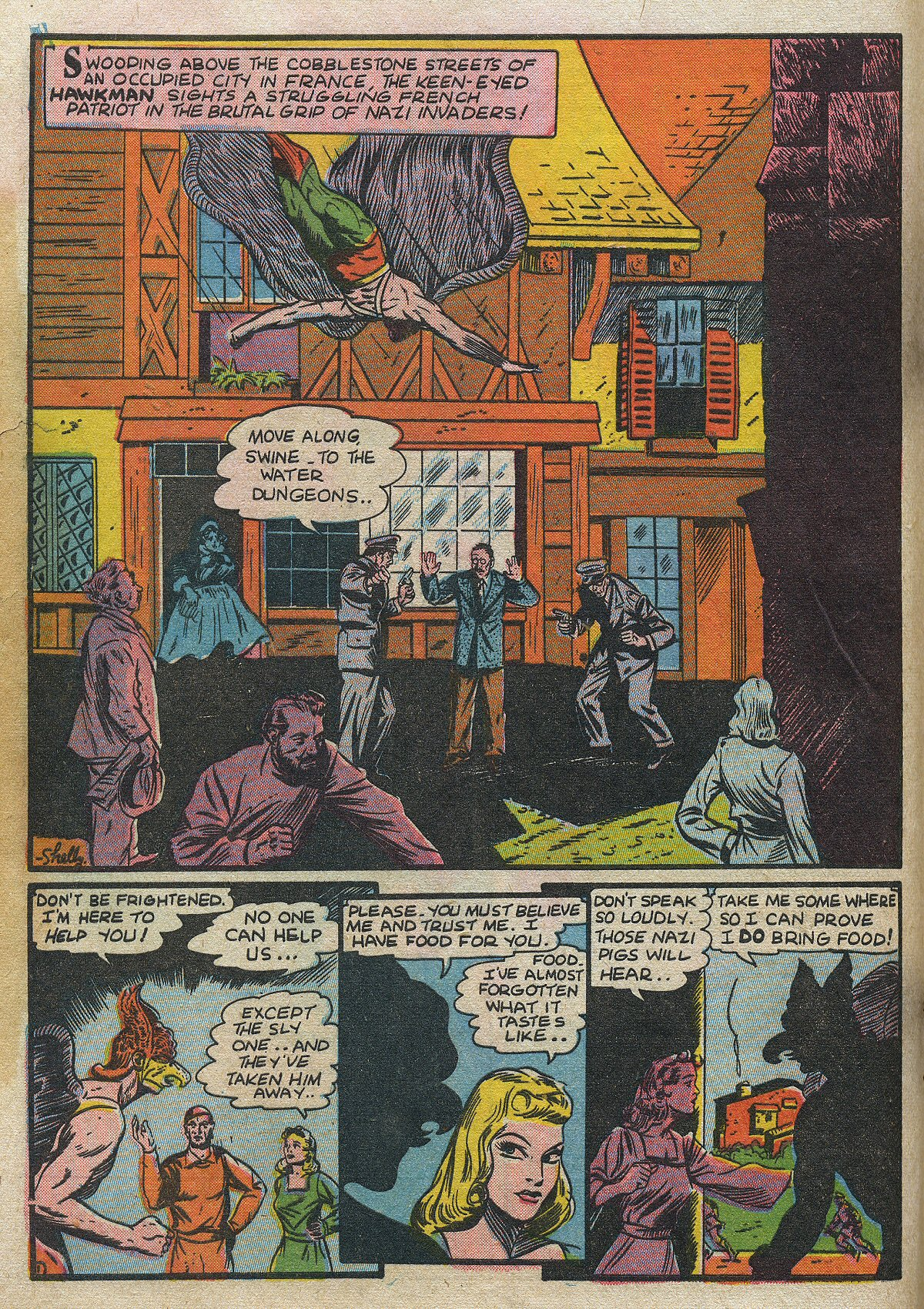 Read online All-Star Comics comic -  Issue #14 - 6