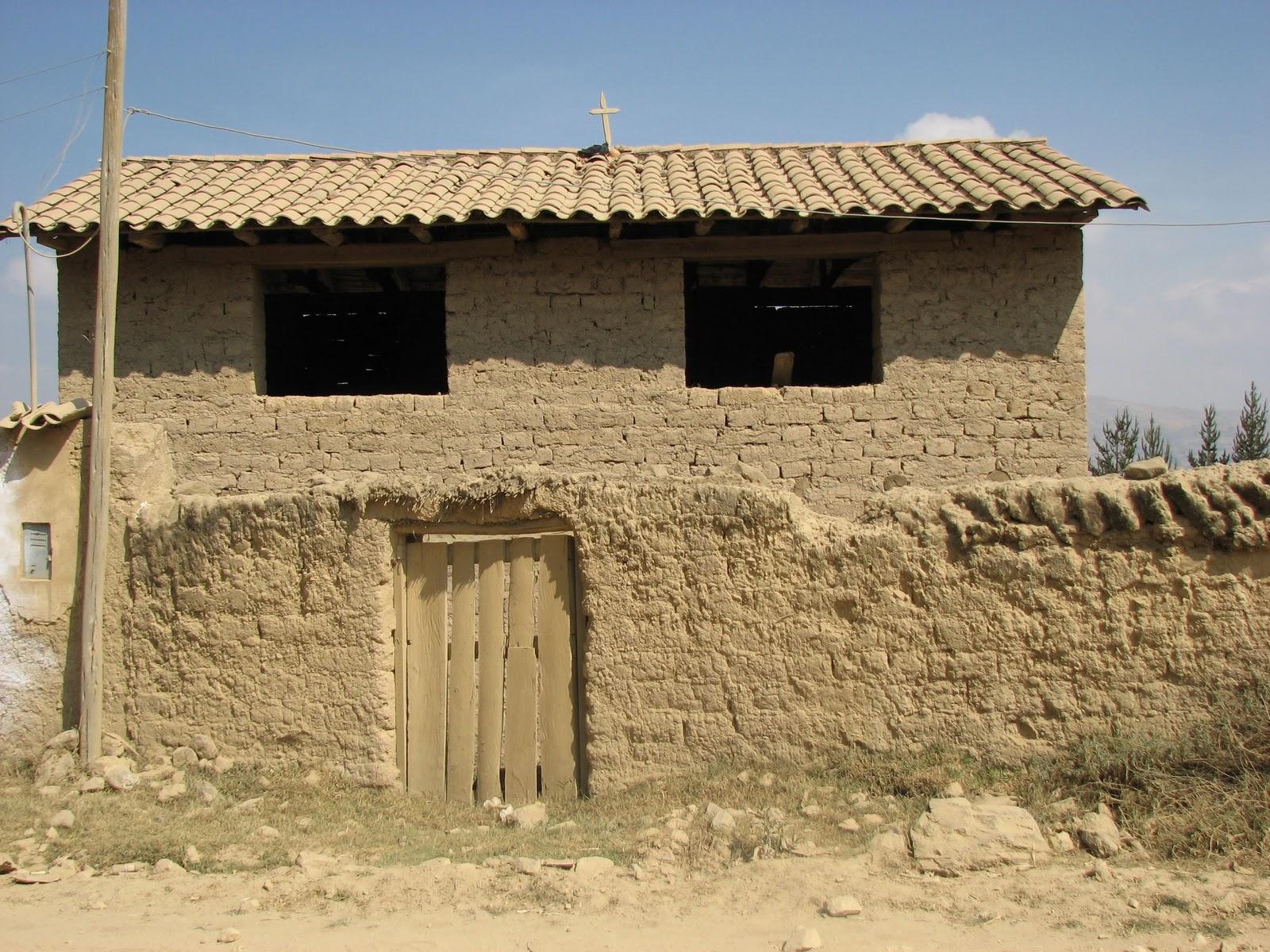 Adobe Bricks Homes Lima Peru