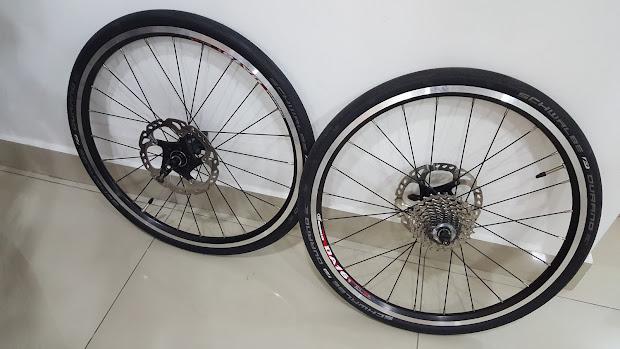 Eat.sleep.bike.repeat 451 Wheelset Dahon Jetstream 2014