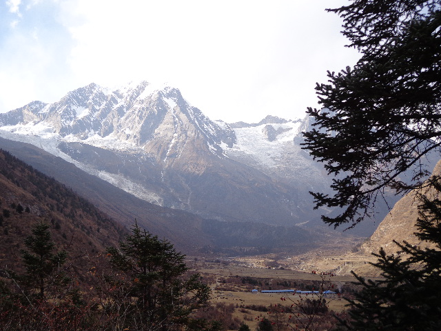 Samagaon , beautiful village in the Manaslu trekking which is base of the Manaslu base camp